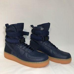 Nike SF AF1 Air Force 1 Hi High Top Sneakers Shoes